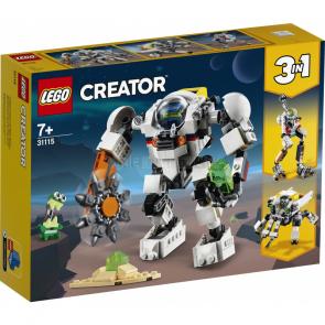 LEGO Creator 31115 Vesmírný těžební robot [31115]