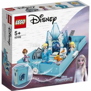 Lego Disney Princess 43189 Elsa a Nokk a jejich pohádková kniha dobrodružství [43189]