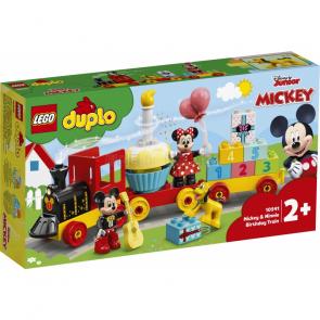 LEGO DUPLO 10941 Narozeninový vláček Mickeyho a Minnie [10941]