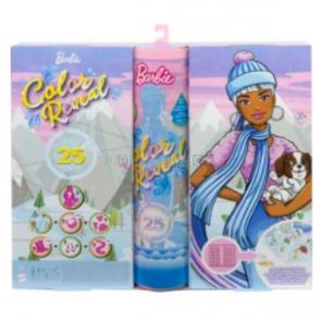 Mattel Barbie Color Reveal Adventní kalendář 2021 [HBT74]