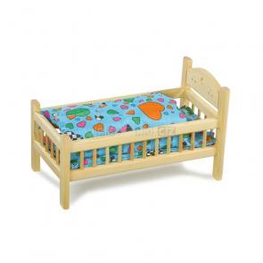 Postýlka pro panenky dřevěná