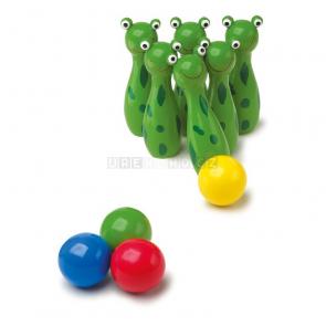 Kuželky Žabky