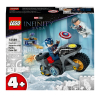 LEGO Super Heroes 76189 Captain America vs. Hydra [76189]